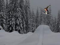 Ski Resort Summit at Snoqualmie in USA