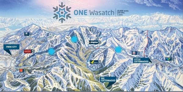 Ski Utah Announces One Wasatch Linked Area Plans!