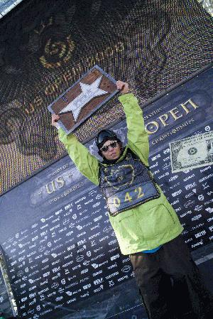 US Open 2008, TTR champ Kevin Pearce
