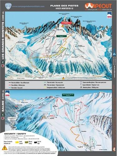 Chamonix 2010/11 Wipeout Map