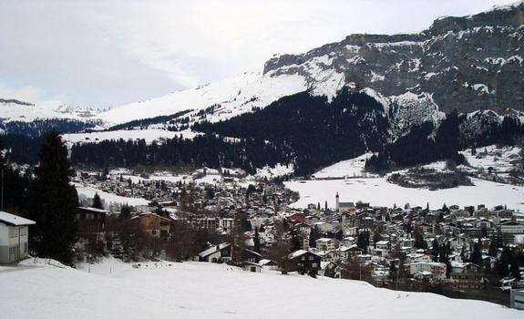 Flims lower village