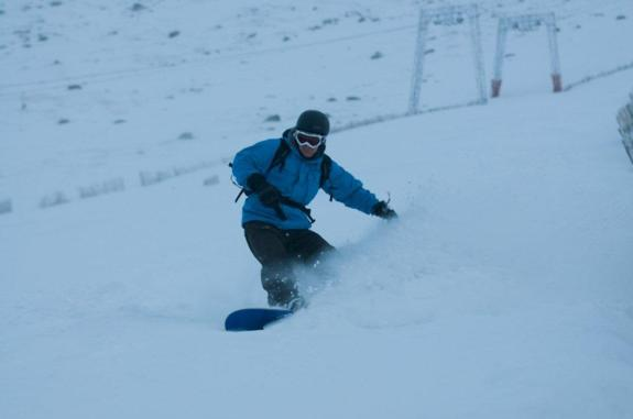Opening day at Nevis Range 2010/11 - 18th Dec