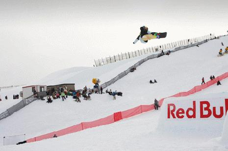 Mikkel Bang wins the slopestyle