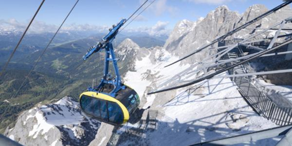 New Dachstein Gondola Open For Summer!