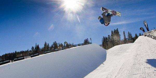 Dom Harington wins halfpipe in 2011 Aspen Open