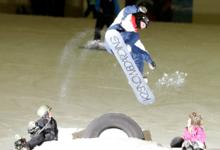 BEN KILNER SLIDES INTO SNOW FACTOR!