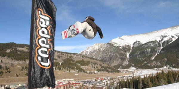 Copper opens first superpipe of the US season