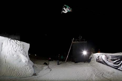 Janne Korpi, winner of 09 O'Neil Evoloution Slopestyle