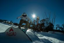 Ski Resort Thredbo Alpine Village in Australia