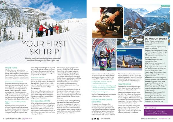 Crystal Ski Holiday Guide to the Mountains