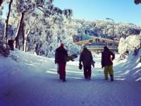 Ski Resort Mount Baw Baw in Australia