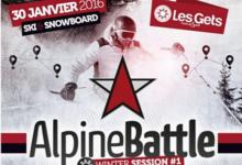 Les Gets Winter Alpine Battle 2016