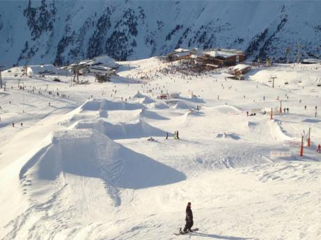 Ski Resort Ischgl in Austria