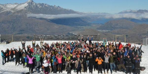 New NZSki staff ready and raring to go!