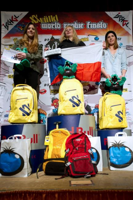 Female FInalists Volkl World Rookie FInalists 2013