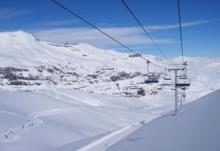 Ski Resort Valle Nevado in Chile