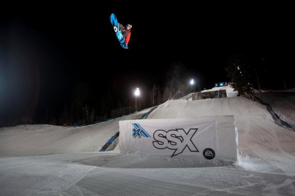 Mark McMorris competes competes in the Men's Snowboard Slopestyle Finals at Winter X Games 2012