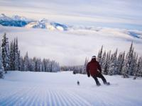 Ski Resort Revelstoke in Canada
