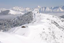 Ski Resort Zell am See in Austria