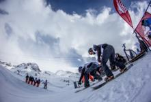 GEHRIG &THIDLING WIN BRITS SNOWBOARD CROSS!