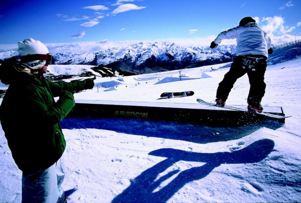 Female residential camps at Snowpark this season