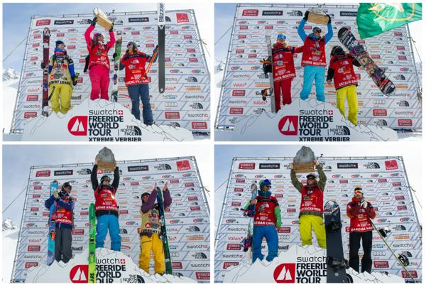 Freeride World Tour Pdium 2014