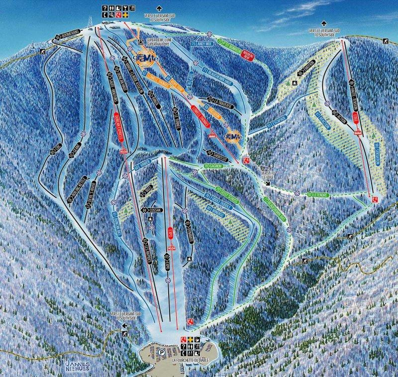 Mont Tremblant Riding Guide World Snowboard Guide