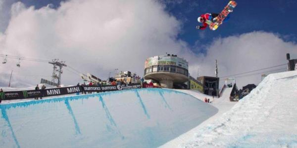 Halfpipe qualification at the BEO2011
