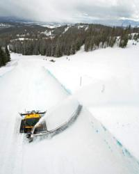Big Mountain's new superpipe