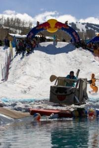 The Aspen Red Bull Schnee Tag