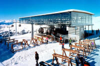Ski Resort Flims in Switzerland