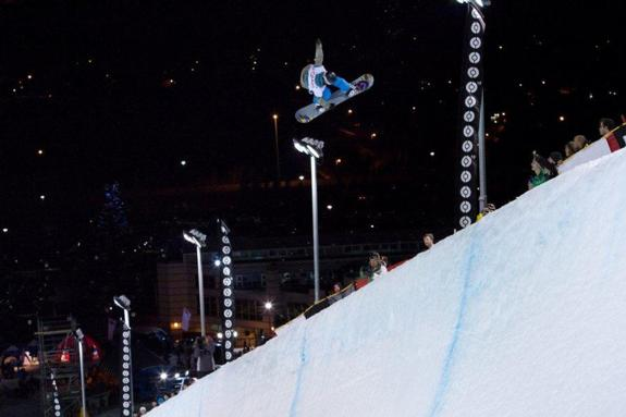 Canadian Open woments Halfpipe 2011 Winner Kelly Clark