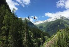 ISCHGL OPENS ZIP-WIRE THRILL RIDE