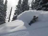 Ski Resort Powder King in Canada