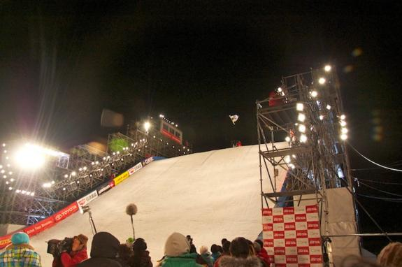 Quarter finals, Toyota Big Air 2011 in Sapporo