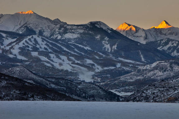 Snowmass Sunrise 12/11/2012