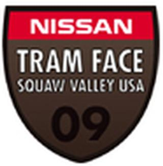 Nissan Tram Face Squaw 09 logo world freeride tour