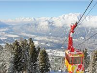 Ski Resort Igls in Austria