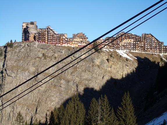 Avoriaz village