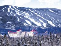 Ski Resort Bretton Woods Ski Area in USA