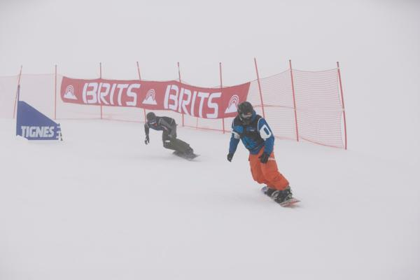 The Brits Snowboard Cross 2013