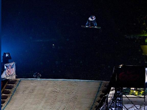 2011 Munich Air & Style rider Seppe Smits