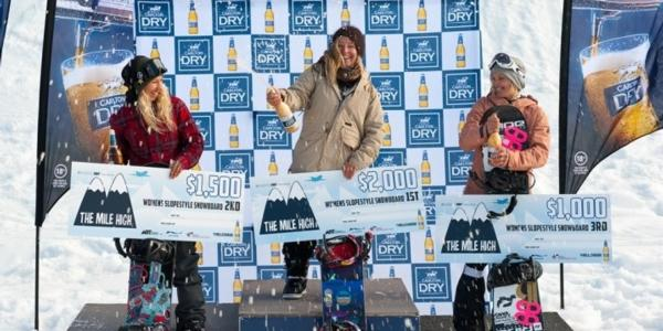 Seb Toutant and Jamie Anderson win mile high 2014