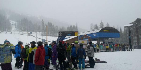 INCREDIBLE CONDITIONS FOR REVELSTOKE OPENING