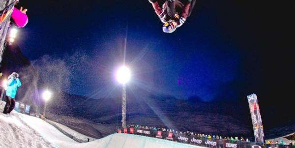 Louie Vito picks up X-Games Gold in the Superpipe