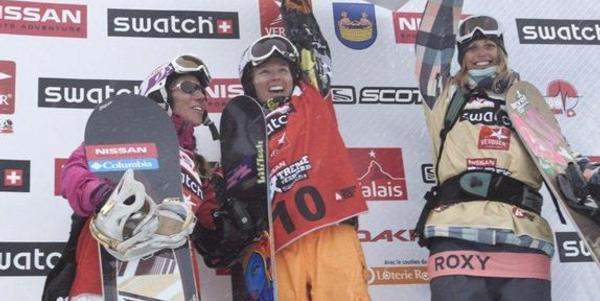 ShannanYates takes womens Nissan Xtreme in Verbier