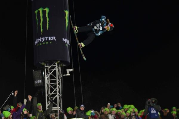 kelly clark (usa) at halfpipe final