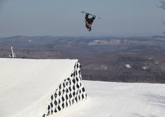 US Open 2010 slopestyle winner Shelly Gotlieb
