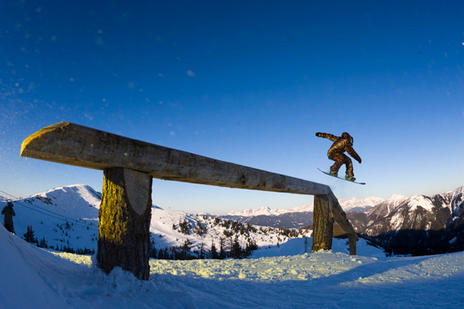 Up/down log on the Stash at Flachauwinkl Rider: Dmitry Fesenko
