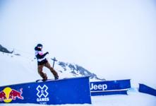 SHACKLETON & FRY-TAYLOR 1ST AT BRITS SLOPESTYLE